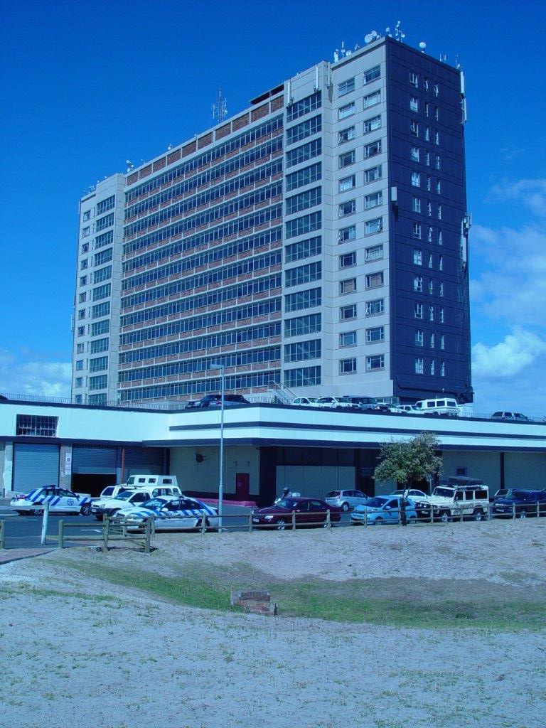 Milpark Building near Cape Town in South Africa where the Autovilla is parked